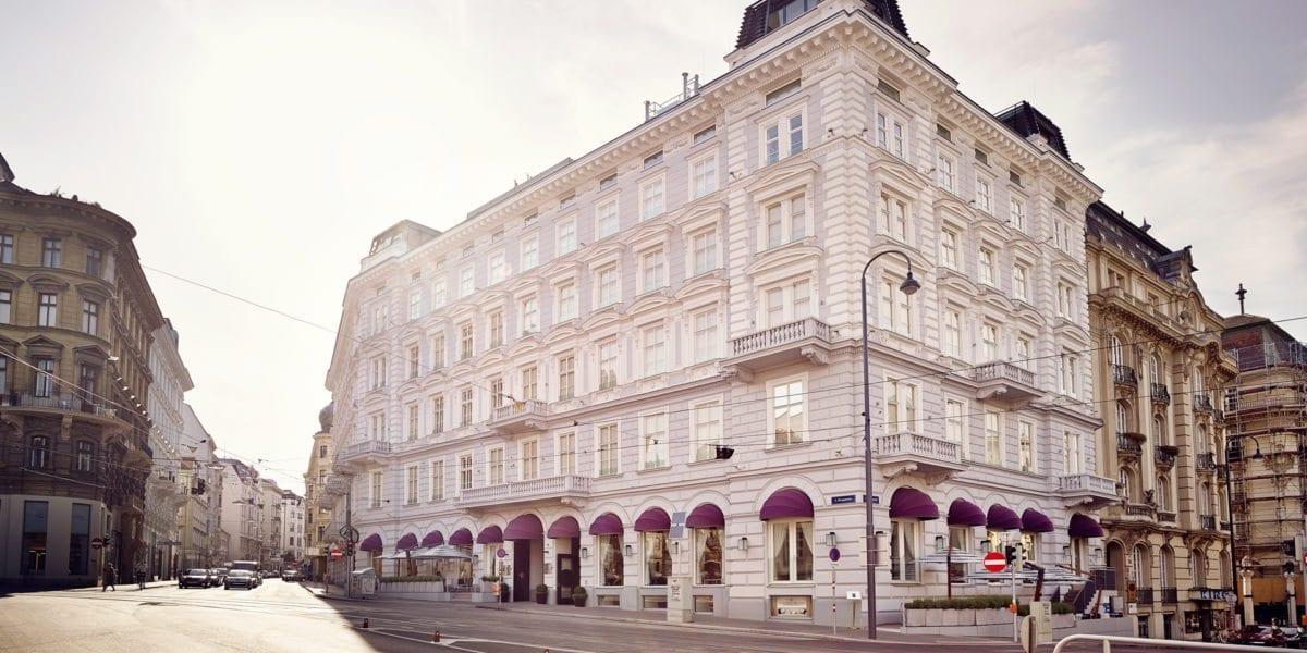 Boutique Hotel Wien - Impressionen Sans Souci Wien: Aussenansicht
