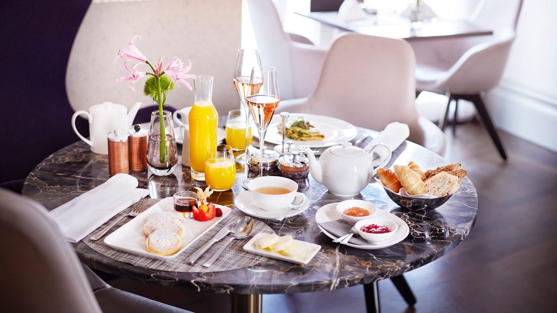 Frühstück im Hotel Sans Souci Wien_Hotel Wien Zentrum