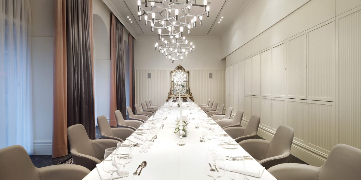 Private Dining Events elegant